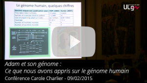 Video Conference Adam et son genome